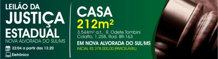 JE NOVA ALVORADA DO SUL-MS V.C. 22-04